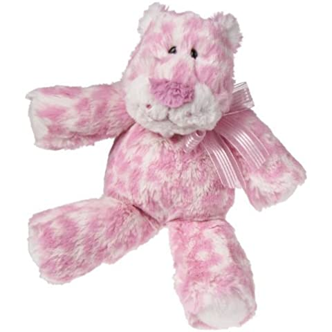Mary Meyer Marshmallow Plush Rattle, Lovey Leopard (Discontinued by Manufacturer) by Mary Meyer