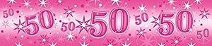 Pioneer Europe- Pancarta de fiesta, Color rosa (45563)