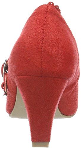 Andrea Conti 3002724, Escarpins femme Rouge - Rot (Rot 021)