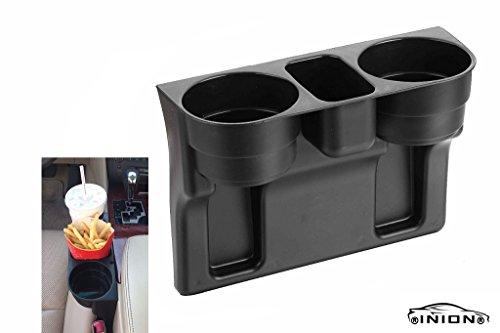 Preisvergleich Produktbild UNIVERSAL KFZ Becherhalter Ablagefach Stauraum chiavi Holder Aufbewahrungsbox Ablagefach Dosenhalter Kaffeehalter Flaschenhalter Pommes halter Burger&Cola Drink Holder (1x Getränkehalter UNIVERSAL)