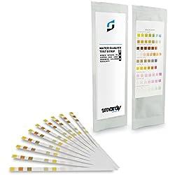 SMARDY® 10x 9 IN 1 Ultra Wassertest Set für Trinkwasser schnelltest - einfache Überprüfung der Wasserqualität