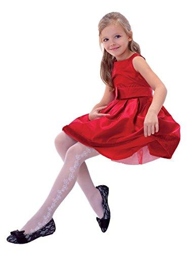 Schöne Mädchen, hohe Qualität, komfortable KinderStrumpfhose von Knittex.