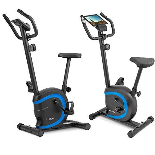 Elitum Heimtrainer RX150 Fitnessbike Trainingscomputer Pulsmessung bis 120 kg Magnet Bremssystem -