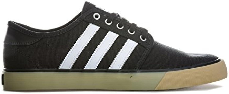 adidas Seeley Decon Herren Sportschuhe  Schwarz  (negbas/Ftwbla/gum4) 36 2/3