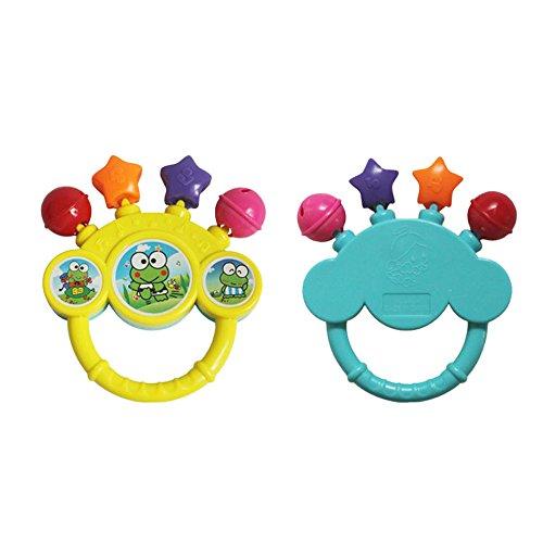 OIKAY Hand auf das Spielzeug Baby Geburtstagsgeschenk Bell Spielzeug ()