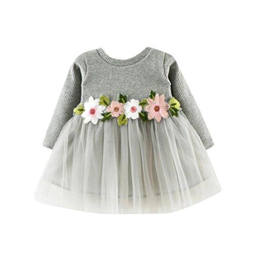 Mädchen Kleider Dasongff Kleinkind Baby Mädchen Prinzessin Kleider -