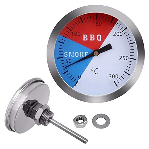 CAheadY Edelstahl BBQ Grill Thermometer Outdoor-Ofen Kochtemperaturanzeige White - Maverick Thermometer