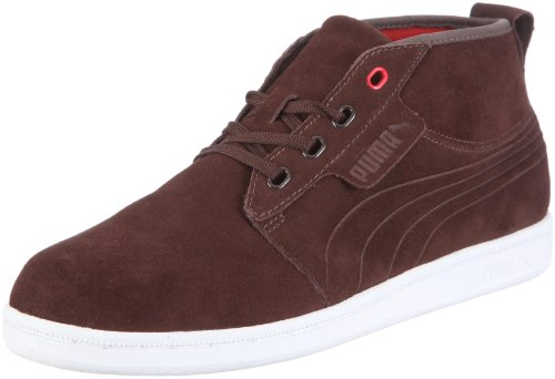 Puma, Hawthorne Mid, Scarpe sportive, Unisex - adulto Multicolor (Chocolate Brown/White)