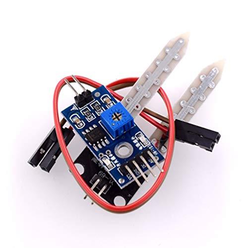 Hehilark - Tarjeta electrónica Inteligente de módulo de sonda de Humedad para detección de higrómetro...