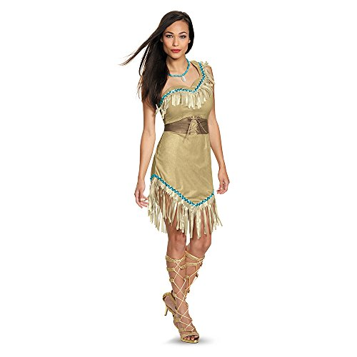 Disney Pocahontas Prestige Adult Costume X-Large 18-20