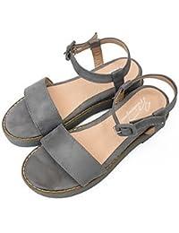 039 femmes Sandales Printemps PU s confort confort décontracté Noir Blanc FlatLight PinkUS8.539 UE UK6.5 CN40