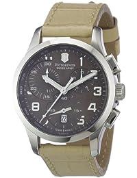 Victorinox Damen-Armbanduhr XS Classic Chronograph Leder 241320
