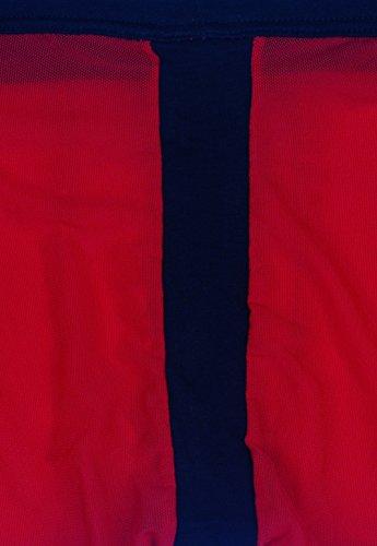 UzHot Boxer da uomo (Die asiatische Größe) Rosso