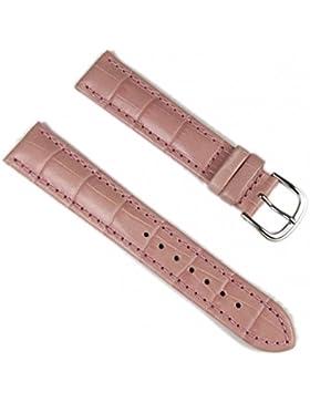 Barington Ersatzband Uhrenarmband Leder Louis-Print rosa 18mm 59061844