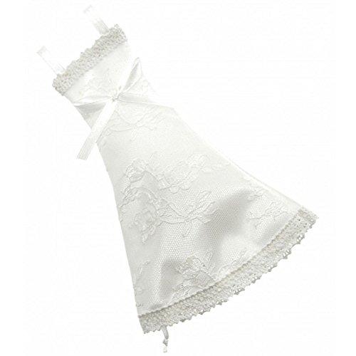 Corsage Creations Coco Mini Hochzeitskleid, Weiß