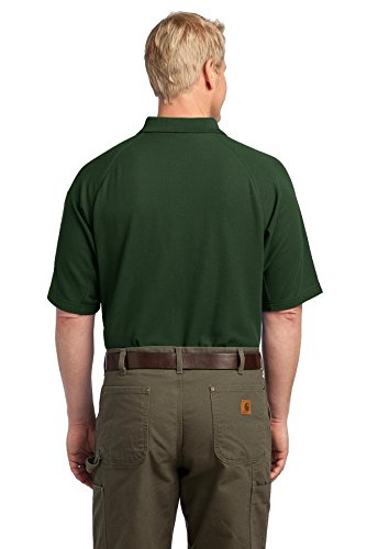 Eckpfeiler EZCotton Tactical Polo Shirt Grün - Dunkelgrün