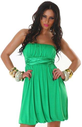 JELA London -  Vestito  - con orlo a palloncino - Basic - Senza maniche  - Donna Vert - Green - Dark green