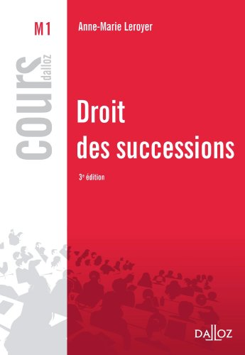 Droit des successions (Cours)