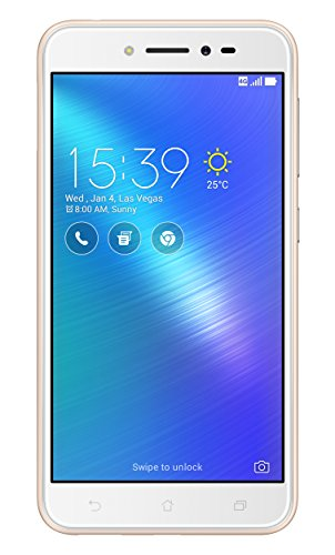 Asus ZenFone Live Dual-SIM Smartphone (12,7 cm (5,0 Zoll) HD Touch-Display, 16 GB Speicher, Android 6.0) gold (Asus Smartphone 6)
