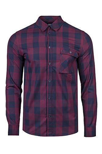 Cleptomanicx Herren T-Shirt Check, Crushed Violets, M