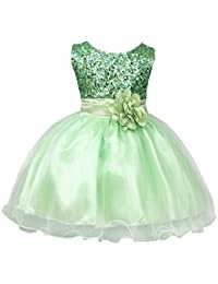 c8677b76b Amazon.co.uk  Turquoise - Dresses   Girls  Clothing