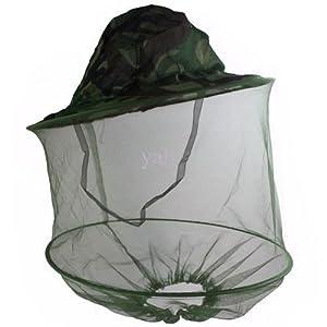 Mosquito Hat Midge Gnat Head Cover Net Fishing Shooting Rrp - £14.99 by Harrington Marley