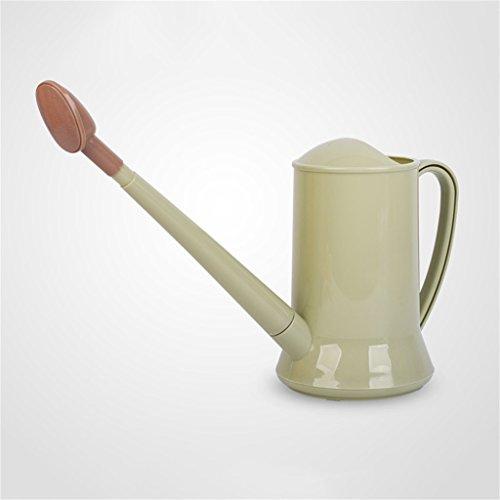 Watering kettle Bouilloire d'arrosage, 2L Multifonctionnel Long-Bouche détachable Outils de Fleur de Jardinage à la Maison en Plastique arrosoir (Couleur : Vert foncé)