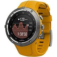Suunto SS023408000 Spartan Trainer Wrist HR - Reloj GPS multideporte, Unisex, Amarillo (Amber), Talla única