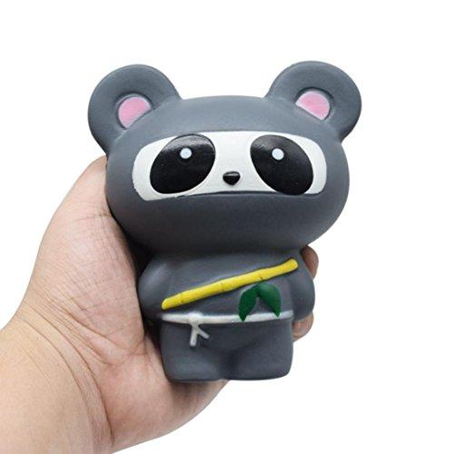 Solik Matschig Jumbo, Dekompression Spielzeug, Kawaii Matschig Langsam Steigend, zum Kinder Erwachsene Hand Handgelenk Spielzeuge (B) (Kawaii Ninja)