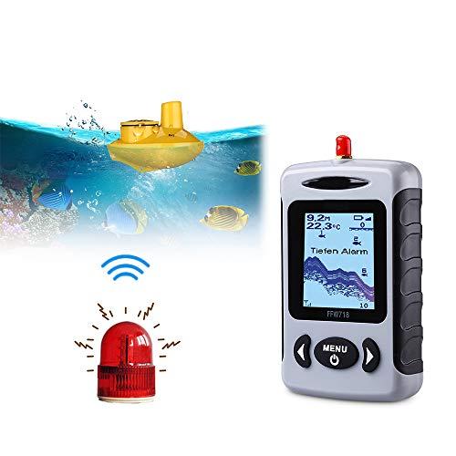 Wenhu FFW718 Wireless Portable Fish Finder 40M / 120FT Sonar Echolot Ozean River See