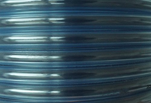 E_BEST_DEALS Klares PVC-Rohr, Luftschlauch für Aquarium, Lebensmittelqualität (alle Größen bis 13mm) 5m Länge, farblos, 12MM X 15MM