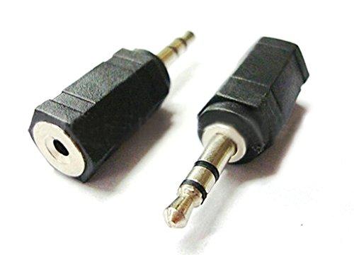 CABLING® Prise Adaptateur Fiche JACK - 3.5mm MALE vers 2.5mm FEMELLE