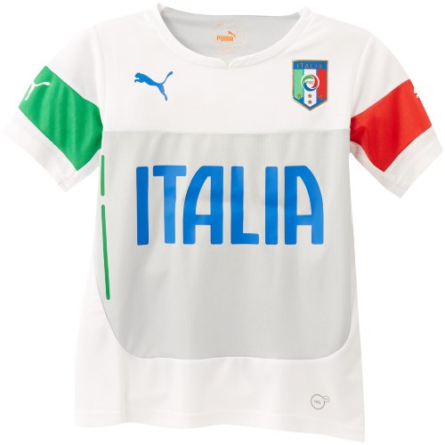 Puma JR FIGC ITALIA TRA - Prenda, color blanco, talla FR: FR : 12 (Taille Fabricant : 152)