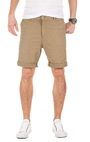 Yazubi Herren Chino Shorts Aiden gemustert