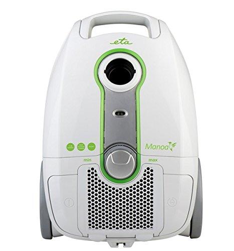 Eta 250190000Drum Vacuum Cleaner 3L 900W B grün, grau Staubsauger–Staubsauger (Drum Vacuum, B, trocken, Haus, Teppich, Hard floor, A)