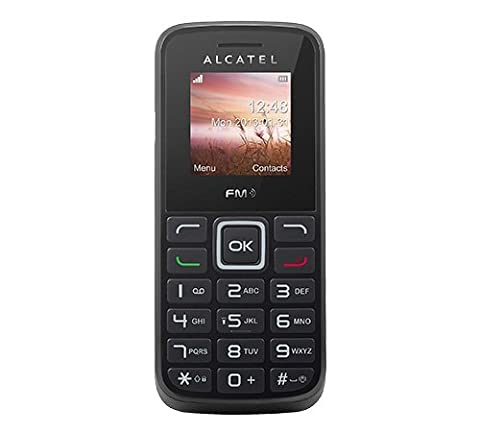 Alcatel 1010D-2AALDE1 One Touch Tiger Handy (3,7 cm (1,5 Zoll) Display, 4MB RAM, Dual-Band GSM, micro-USB)