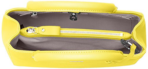 Lacoste NF2108DC, Sac Bandouliere Femmes, 20 x 12.5 x 27.5 cm EMPIRE YELLOW