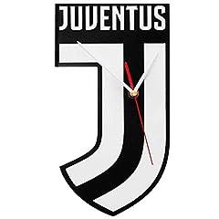 Idea Regalo - Giemme articoli promozionali - Orologio Parete Juventus Quadrato Prodotto Ufficiale Idea Regalo Calcio Serie A