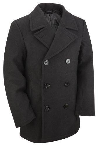us-navy-vintage-manteau-caban-femme-noir-xx-s-81-cm-86-cm