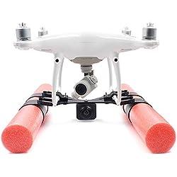 Prevently Toy Anzuelo de Engranaje para dji Phantom 3 4 Drone con diseño de radiofrecuencia, Rojo