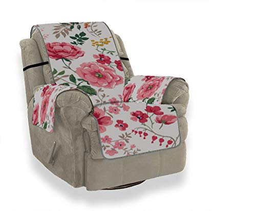 Rtosd Elegant Flowers of Forever Love Reclinable Seccional ...
