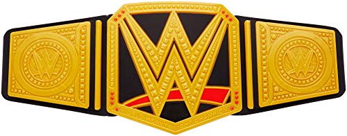 WWE Mattel FMJ91 - Championship Gürtel, verstellbar mit Metallapplikationen
