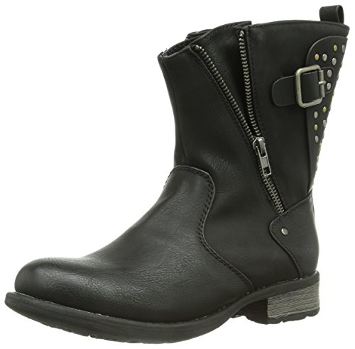 Rieker 97251 00, Bottes femme Noir (Schwarz)