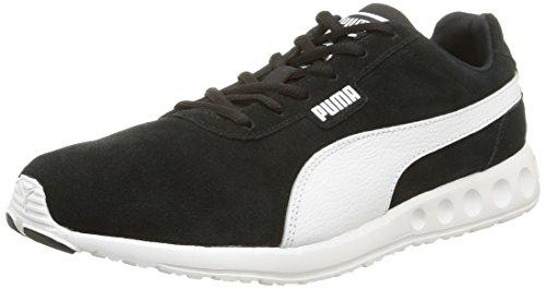 Puma Fallon Suede, Chaussures de Running Entrainement Homme, 41 EU Black/White