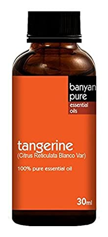 Tangerine 100% Pure Therapeutic Grade Essential Oil by Banyan Pure- 30 ml