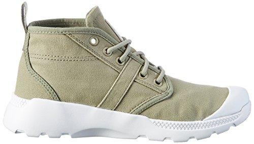 Palladium Unisex-Erwachsene Pallaville Hi Deux Sneaker Beige (Seneca Rock/White/White)
