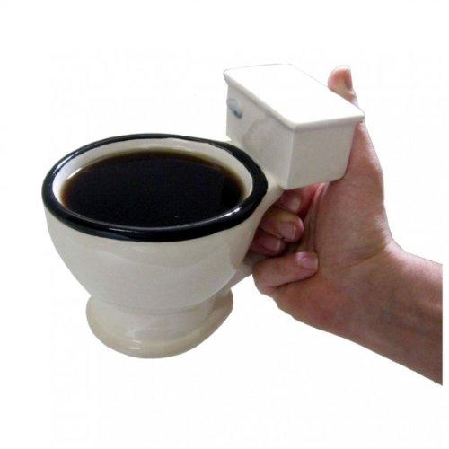Klo Becher - Der Toiletten Kaffee Becher