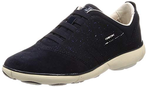 Geox Damen D Nebula C Sneaker, Blau (Navy C4002), 37 EU Geox Trainer