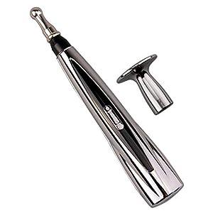 Elektronische Akupunktur Pen,Wiederaufladbare Elektronische Akupunktur Stift Meridian Energy Massage Pens mit USB Kabel für Schmerzlindernde Werkzeuge