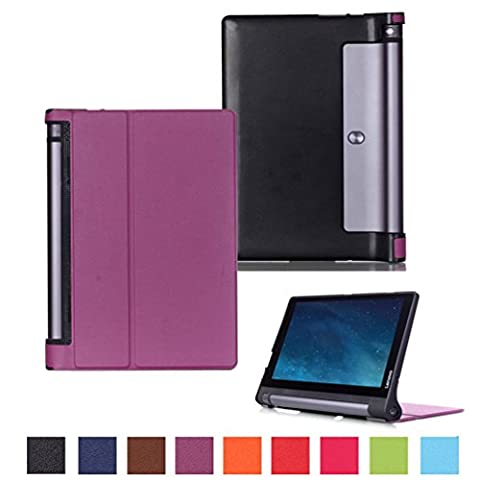 Coque Lenovo Yoga Tab 3 10'' - Style de Smart Cover Case Etui à Rabat Housse de Protection pour Tablette Lenovo Yoga Tab 3 10'' Pouces Coque en Cuir Pochette